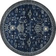 Product Image of Navy, Blue, Linen (AR-039) Traditional / Oriental Area Rug