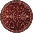 Product Image of Red, Linen (AR-040) Traditional / Oriental Area Rug