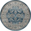Product Image of Blue, Light Gray (AR-0138) Traditional / Oriental Area Rug