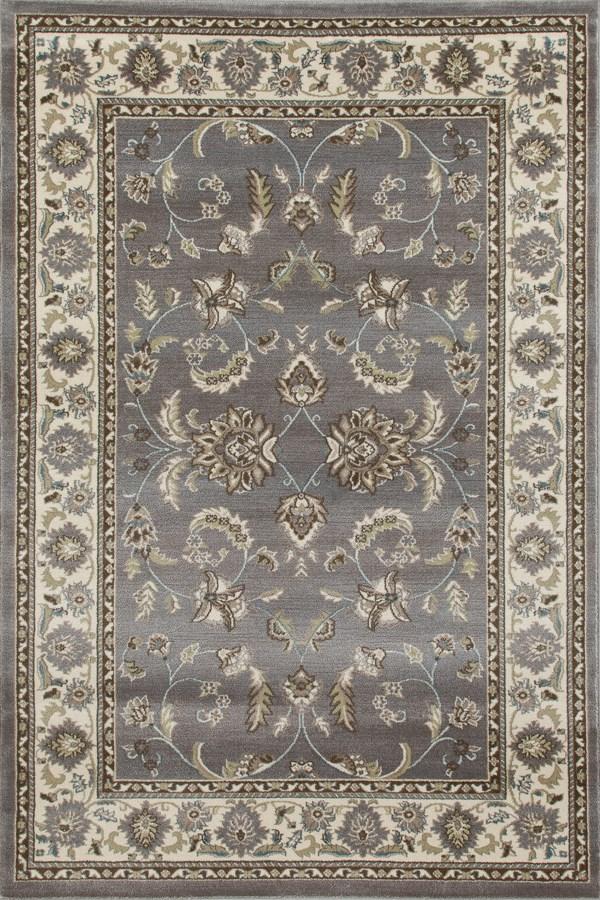 Light Gray, Linen (AR-0140) Traditional / Oriental Area Rug