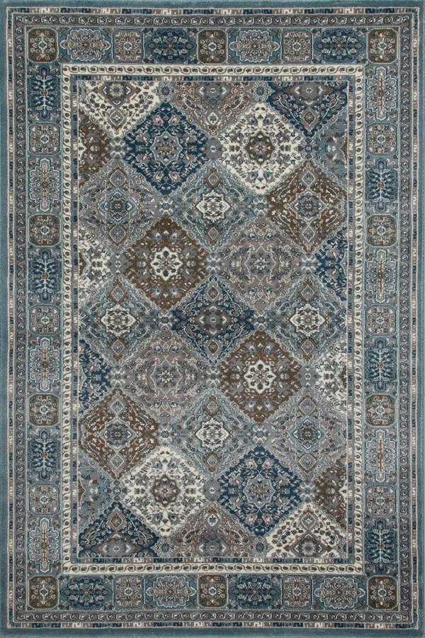 Blue, Gray (AR-0153) Traditional / Oriental Area Rug