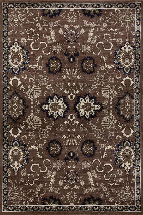 Brown, Linen (AR-0273) Traditional / Oriental Area Rug