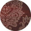 Product Image of Red, Cream (AR-02) Damask Area Rug