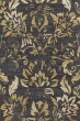 Product Image of Traditional / Oriental Dark Gray, Yellow (AR-056) Area Rug