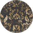 Product Image of Dark Gray, Yellow (AR-056) Traditional / Oriental Area Rug