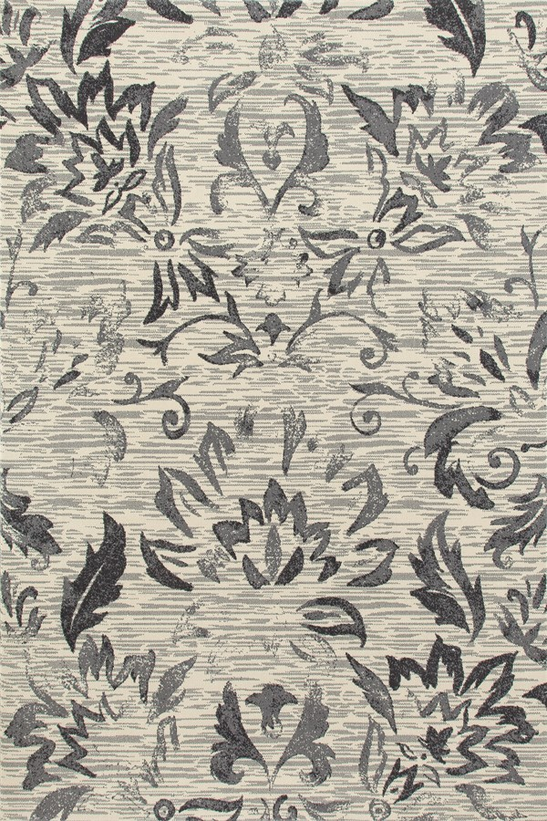 Gray, Linen (AR-057) Traditional / Oriental Area Rug