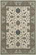 Product Image of Traditional / Oriental Cream, Light Green, Light Blue (AR-064) Area Rug