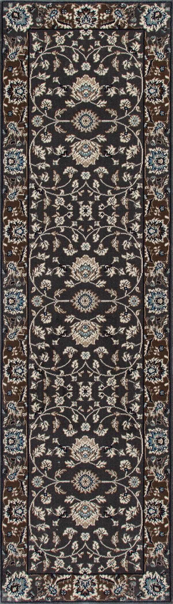 Gray, Cream, Mushroom (AR-065) Traditional / Oriental Area Rug