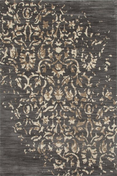 Gray, Linen, Light Brown (AR-0312) Traditional / Oriental Area Rug