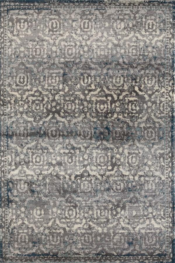 Grey, Linen, Light Blue (AR-0301) Traditional / Oriental Area Rug