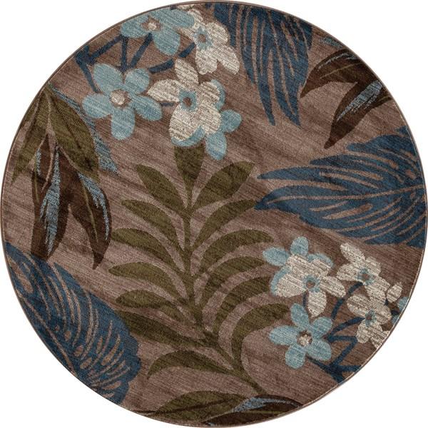 Beige, Blue, Green (AR-0383) Outdoor / Indoor Area Rug