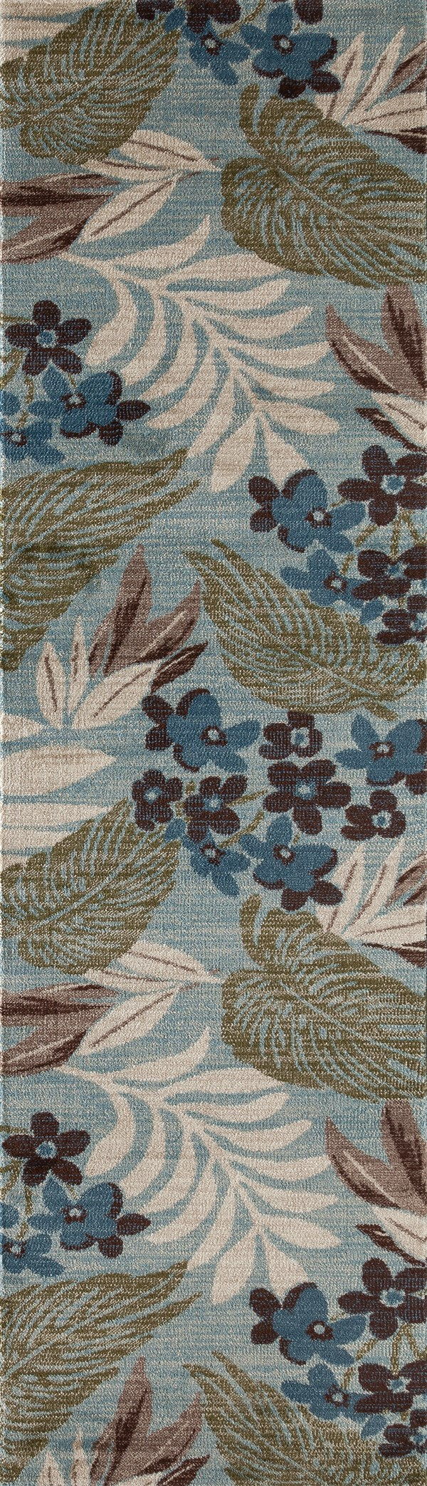 Blue, Green (AR-0384) Outdoor / Indoor Area Rug