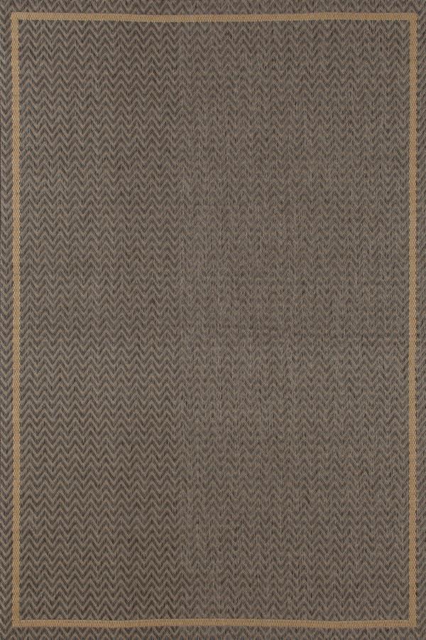 Grey, Beige (SISO-010) Outdoor / Indoor Area Rug