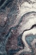 Product Image of Aqua, Gray, Mushroom (IS-03) Abstract Area Rug