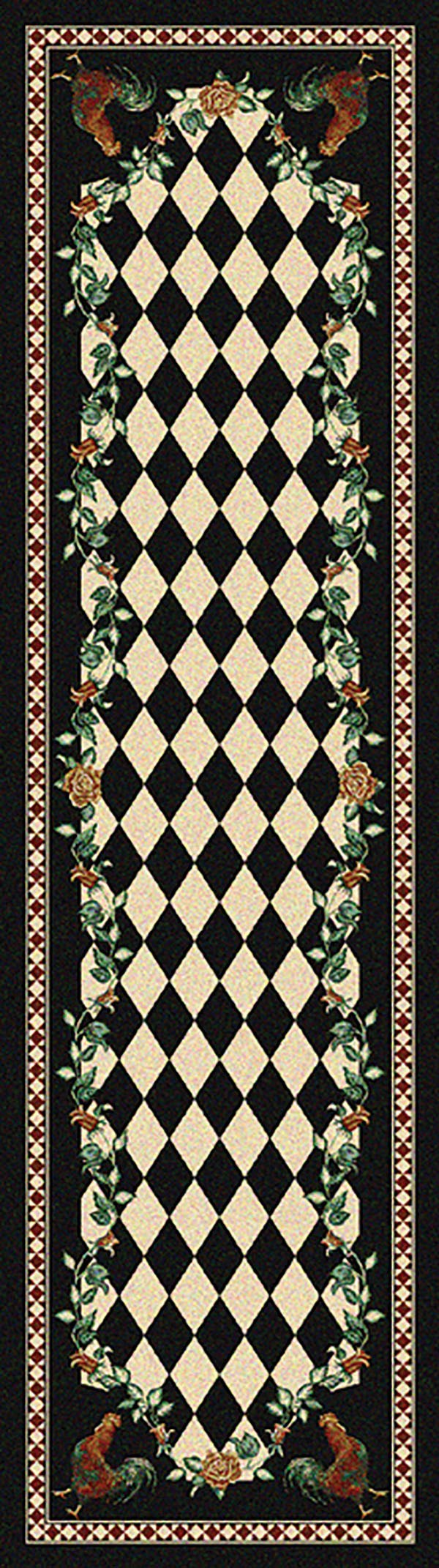 American Dakota Novelty High Country Rooster Rugs Rugs