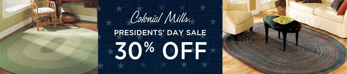 Colonial Mills Rugs - Presidents' Day Sale - Save 30%!