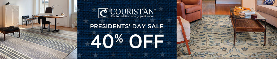 Couristan Rugs - Presidents' Day Sale - Save 40%!