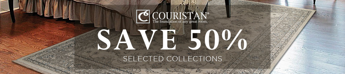 Couristan Rugs - Save 50% on selected collections.