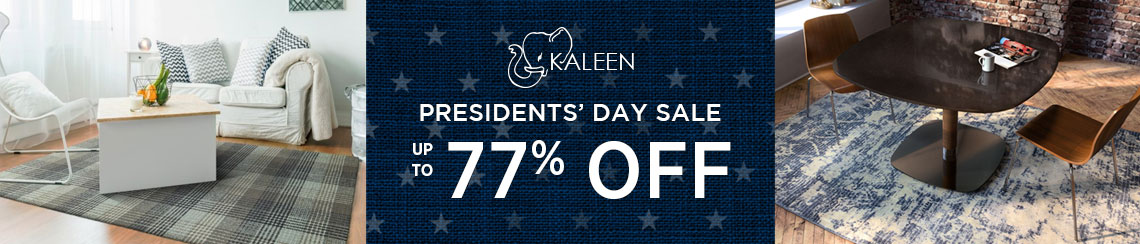 Kaleen Rugs - Presidents' Day Sale - Save up to 77%!