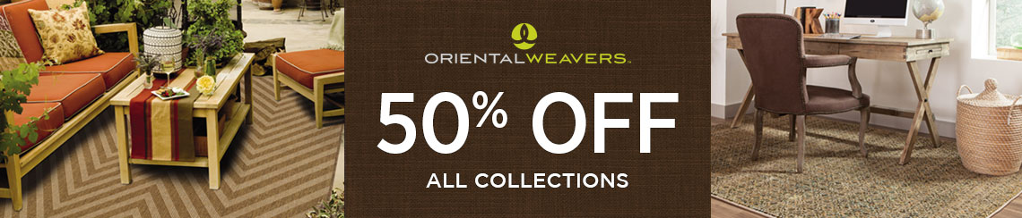 Oriental Weavers Rugs - Save 50% on all collections.