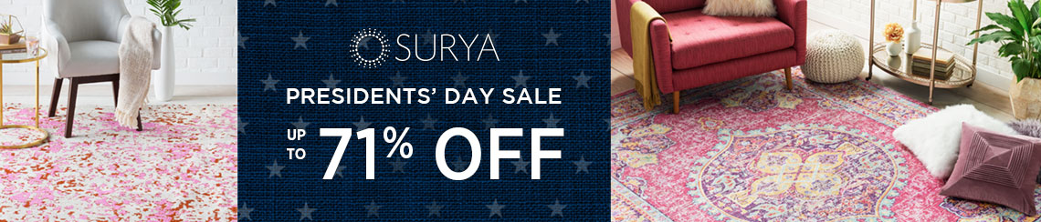 Surya Rugs - Presidents' Day Sale - Save 71%!.