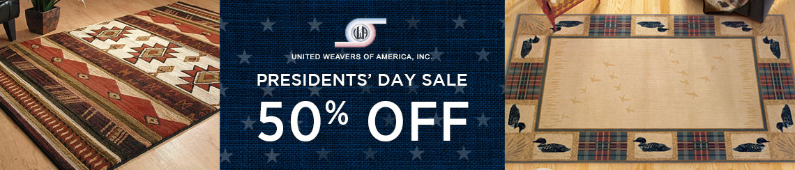 United Weavers Rugs - Presidents' Day Sale - Save 50%!