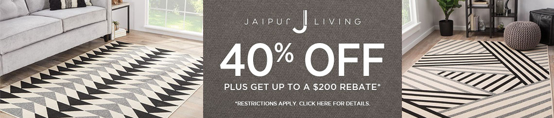 Jaipur Living Rugs - Save 40% plus get up to $200 back.
