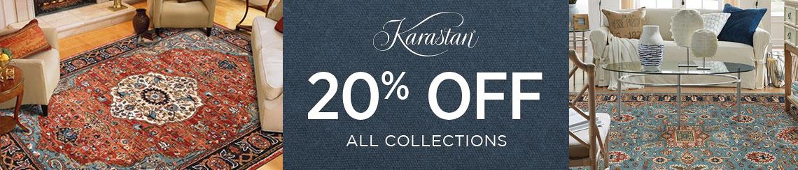 Karastan Rugs - Save 20%!
