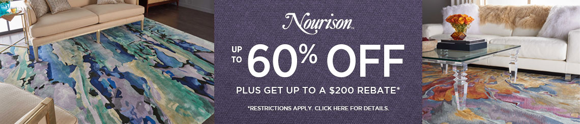Nourison Rugs - Save 40% plus get up to $200 back.