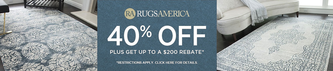 Rugs America Save 40 Plus Get Up To 200 Back