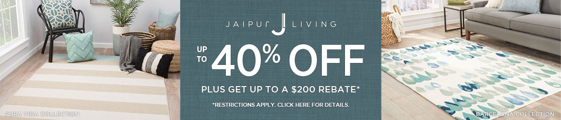 Jaipur Living Rugs - Save up to 40% + get up to $200 back.