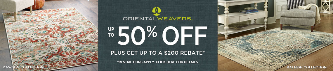 Oriental Weavers Rugs - Save up to 50% + get up to $200 back.