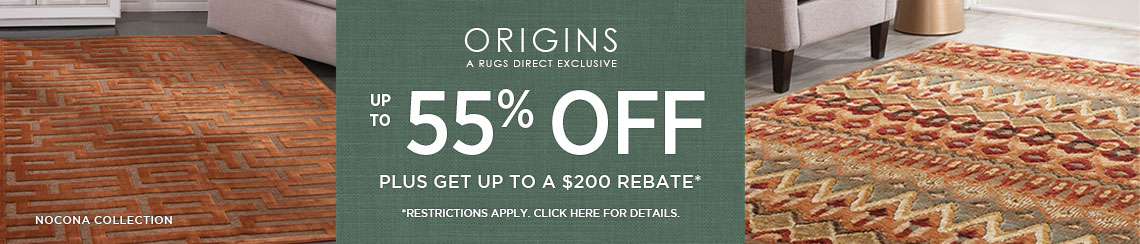 Origins Rugs - Save up to 55% + get up to $200 back.