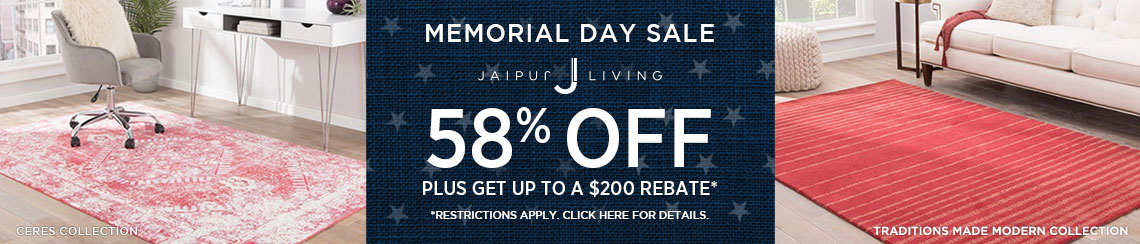 Jaipur Living Rugs - Save 58% plus get up to $200 back.