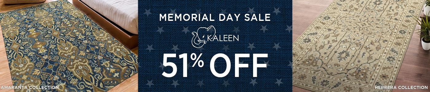 Kaleen Rugs - Save 51%!