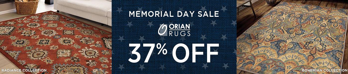 Orian Rugs - Save 37%!