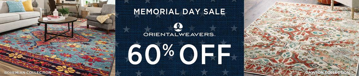 Oriental Weavers Rugs - Save 60%!