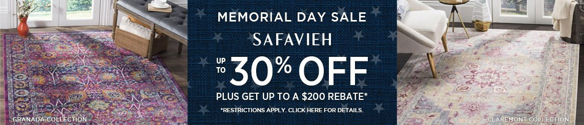 Safavieh Rugs - Save up to 30% plus get up to $200 back!