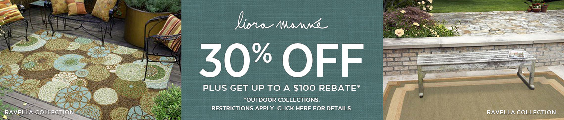 Liora Manne Rugs - Save 30% plus get up to $100 back.