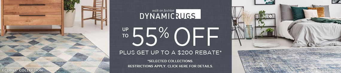 Dynamic Rugs - Save up to 55% + get up to $200 back.