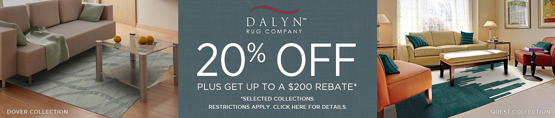 Dalyn - Save 20% on select collections + get up to $200 back!