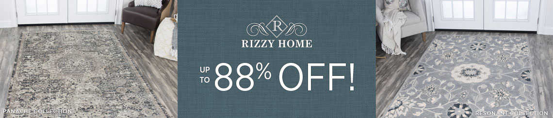 Rizzy Rugs - Save up to 88% on select collections!