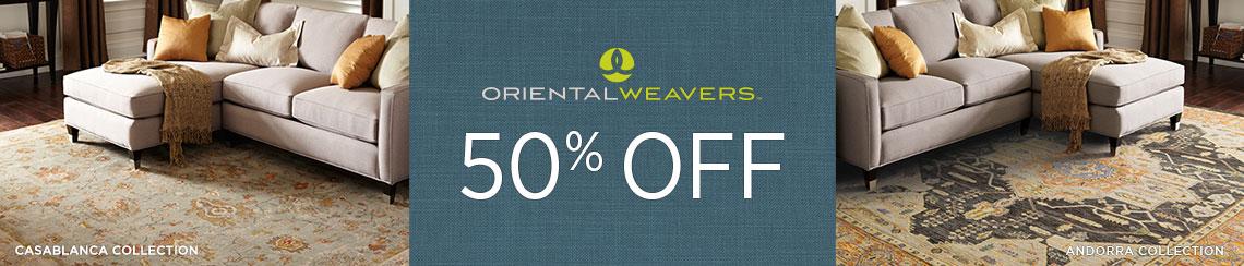Oriental Weavers Rugs - Save 50%!
