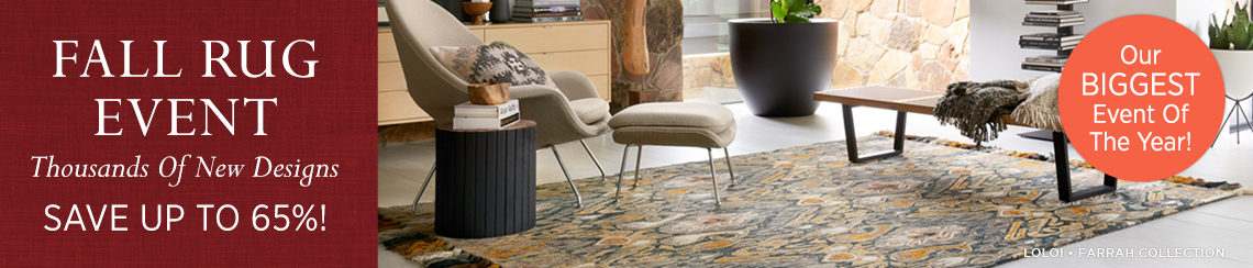 Fall Rug Event - Our Biggest Event Of The Year!