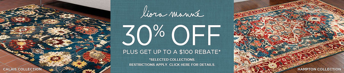 Liora Manne Rugs - Save 30% on select collections + get up to $100 back!