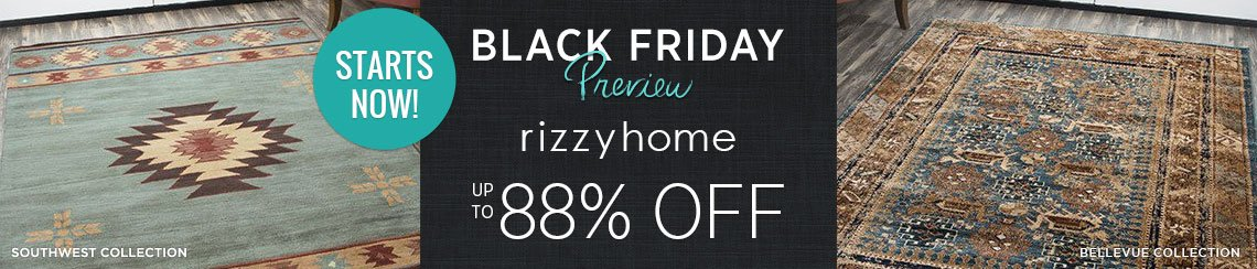 Rizzy Rugs - Save up to 88%