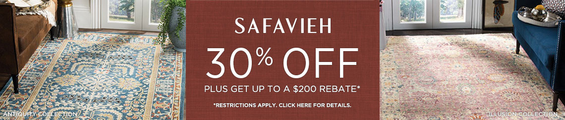 Safavieh Rugs - Save 30% plus get up to $200 back!
