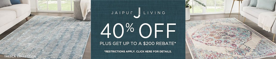 Jaipur Living Rugs - Save 40% + Rebate!