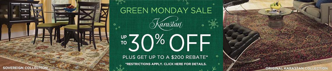 Karastan Rugs - Save up to 30% + get up to $200 back!