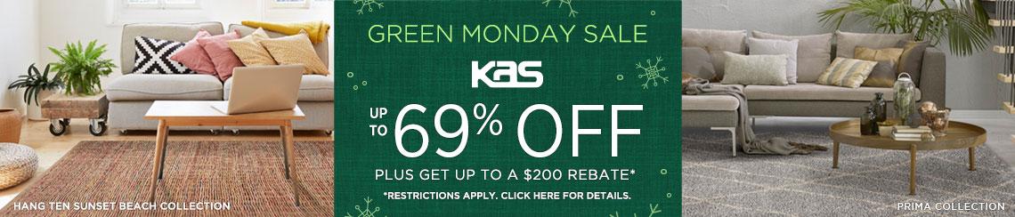 KAS Rugs - Save up to 69% + Rebate!